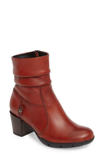 Wolky Colville Boot, Orange