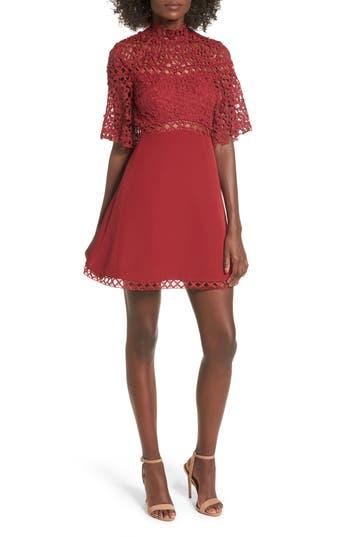 Keepsake The Label Uplifted Minidress, Red