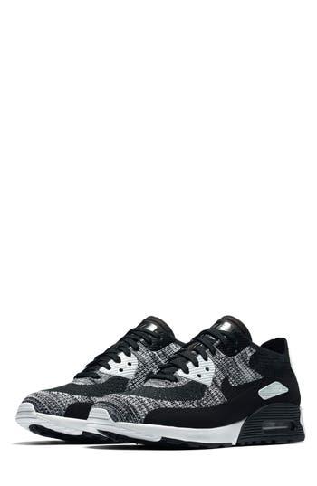 Nike Air Max 90 Flyknit Ultra 2.0 Sneaker, Black