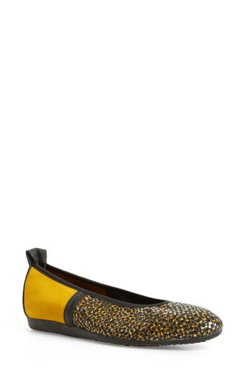 Arche Lamour Ballet Flat, Yellow