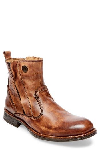 Steve Madden Patten Zip Boot, Brown