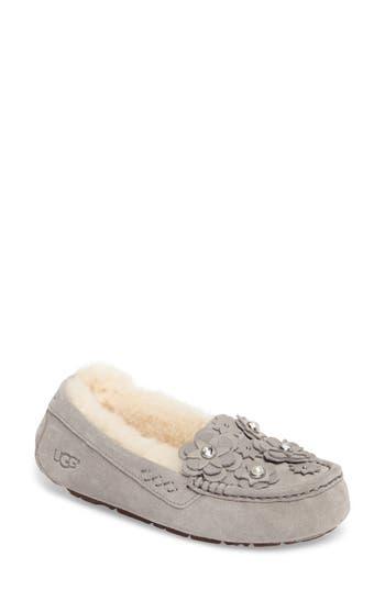 Ugg Ansley Petal Water Resistant Slipper, Grey