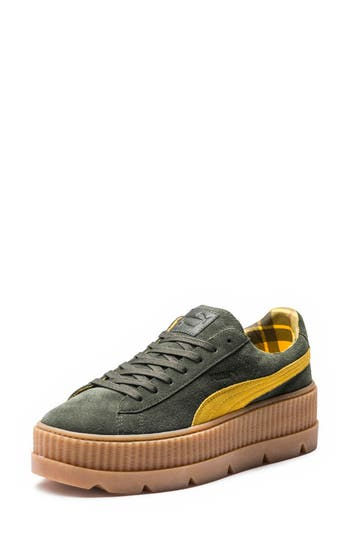 Fenty Puma By Rihanna Creeper Sneaker, Green