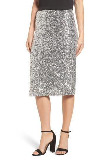 Halogen® Sequin Pencil Skirt
