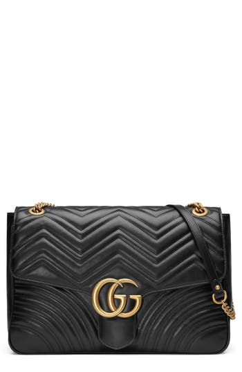 Gucci GG Large Marmont 2.0 Matelassé Leather Shoulder Bag