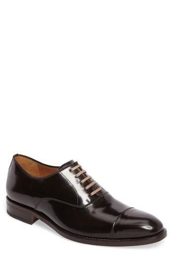 Maison Forte Sicario Cap Toe Oxford- Brown
