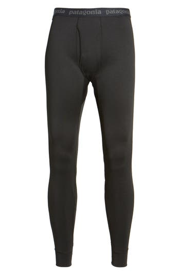 Patagonia Capilene Midweight Base Layer Tights, Black