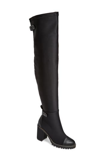 Chinese Laundry Jerry Over The Knee Boot, Black