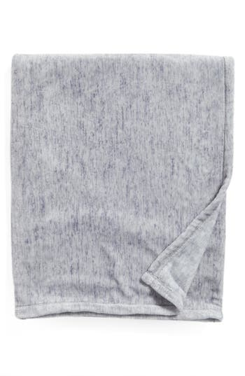 Nordstrom At Home Heathered Throw, Size One Size - Blue