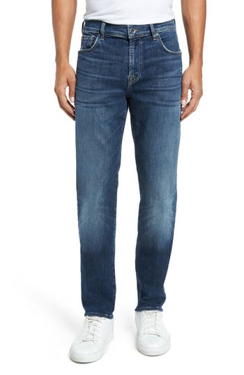 7 For All Mankind Adrien Slim Fit Jeans, Blue