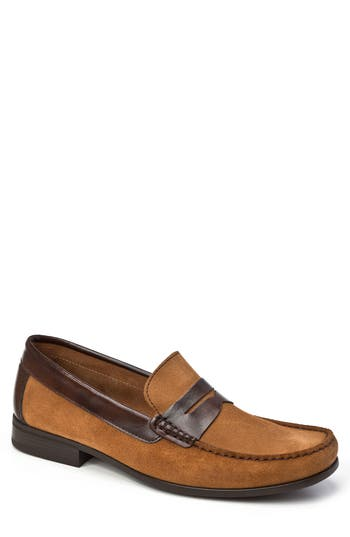 Sandro Moscoloni Lucho Penny Loafer, Brown