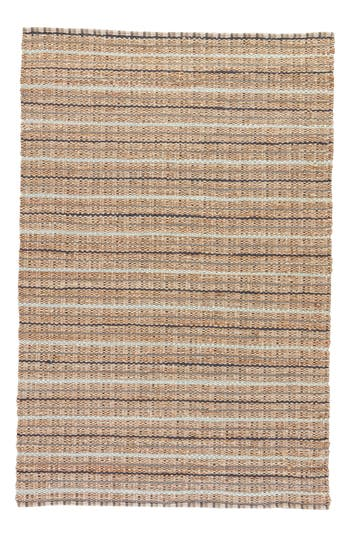 Jaipur Andes Jute & Cotton Rug, Size Swatch - Brown