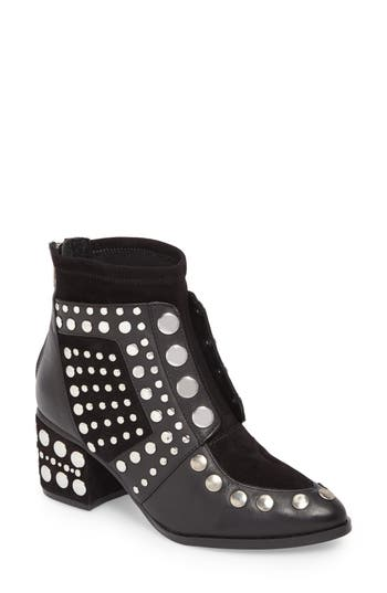 Women's Cecelia New York Michael Studded Boot, Size 6 M - Black