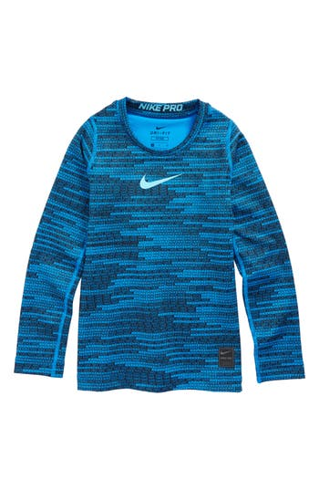 Boys Nike Pro Warm Training Top