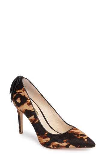 Louise Et Cie Josely Pointy Toe Pump- Brown