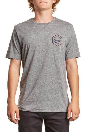Brixton Yates Premium T-Shirt, Grey
