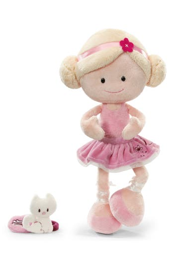 Toddler Girls Neat Oh Nici Wonderland Miniclara The Ballerina Plush Doll