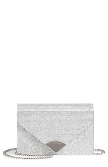 Michael Kors Medium Barbara Metallic Envelope Clutch - Metallic