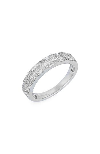 Women's Bony Levy Stackable Diamond Baguette Band Ring (Nordstrom Exclusive)