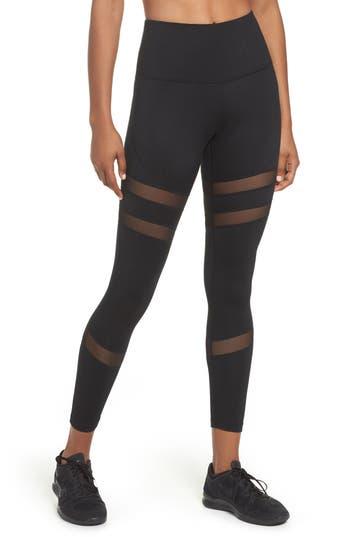 Zella Good Sport High Waist Midi Leggings, Black