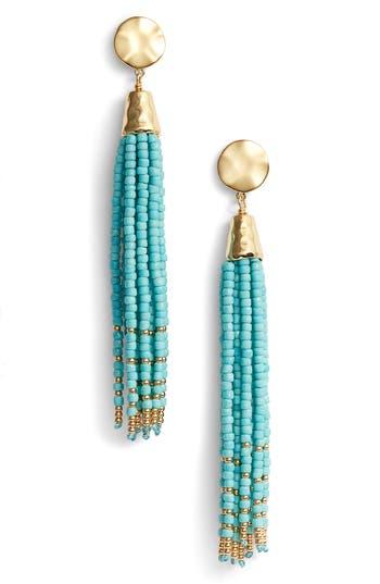 Women's Gorjana Salina Beaded Tassel Earrings