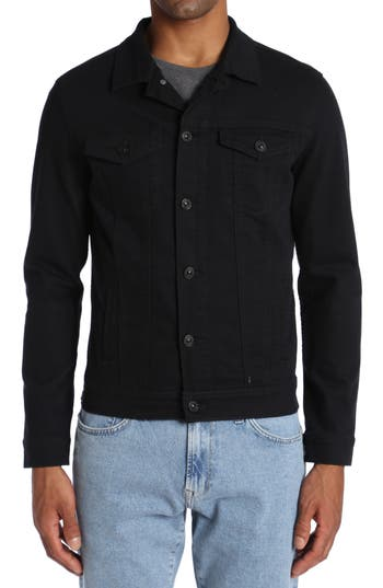 Mavi Jeans Frank Denim Jacket, Black