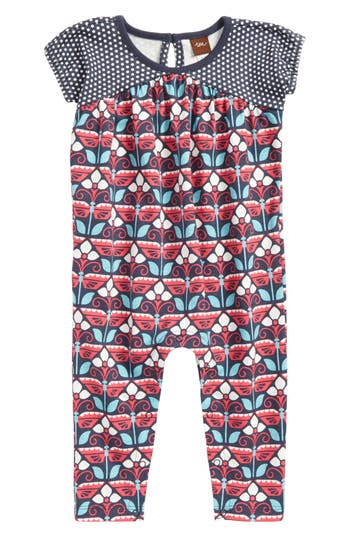 Infant Girls Tea Collection Kaleidoscope Romper