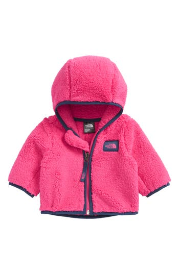 Infant Girls The North Face Campshire Hooded Fleece Jacket