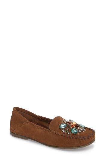 Women's Free People Embellished Loafer Moccasin, Size 6US / 36EU - Brown