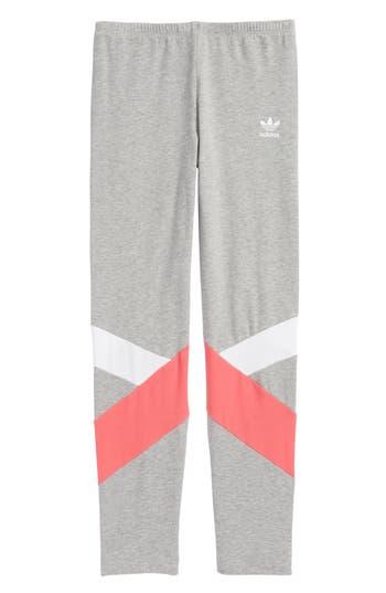 Girls Adidas J Leggings