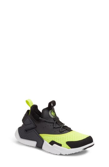 Boys Nike Huarache Run Drift Sneaker Size 7 M  Green