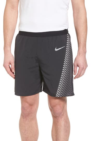 Nike Running Flex Distance Shorts, Black