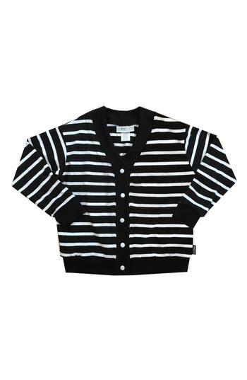 Boys Theminiclassy Stripe Cardigan Sweater
