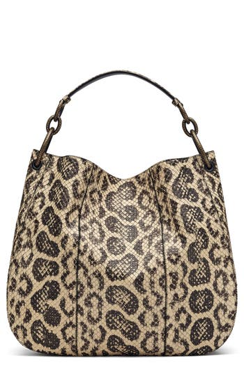 Bottega Veneta Medium Loop Genuine Snakeskin Hobo