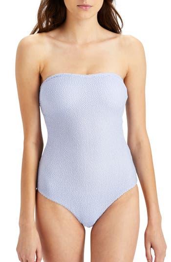 Onia Estelle Convertible One-Piece Swimsuit, Purple