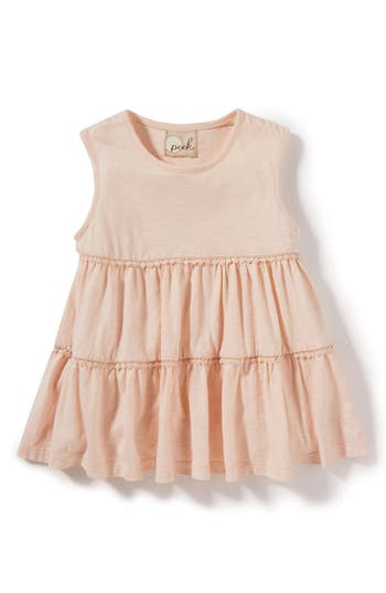 Girls Peek Tara Tiered Top