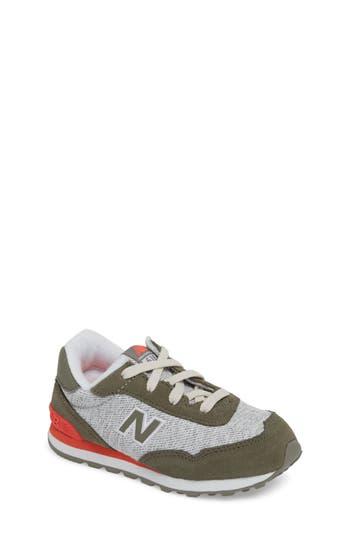 Boys New Balance 515 Sneaker Size 7 M  Green