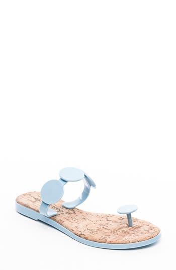 Bernardo Footwear New Moon Flip Flop, Blue
