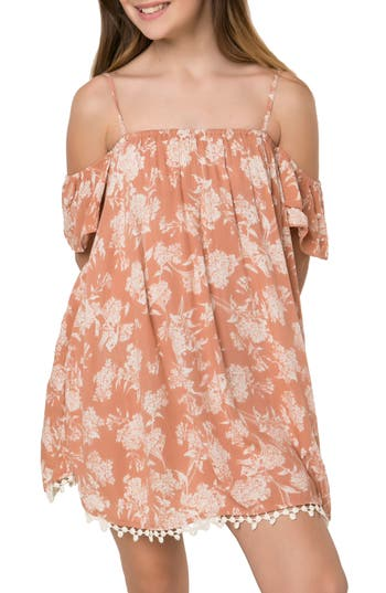 Girls ONeill Dena Off The Shoulder Dress