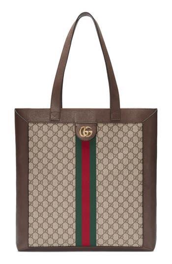 Gucci Large GG Supreme Canvas Tote