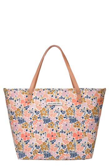 Infant Petunia Pickle Bottom 'Downtown' Canvas Diaper Tote - Pink