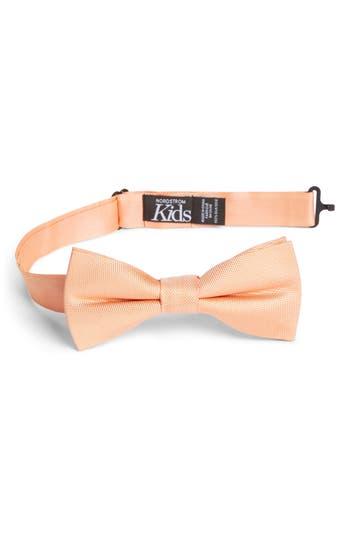 Boys Nordstrom Natte Silk Bow Tie Size Big Boy  Orange