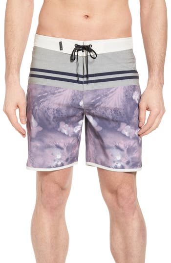 Hurley Phantom Drift Board Shorts, Pink