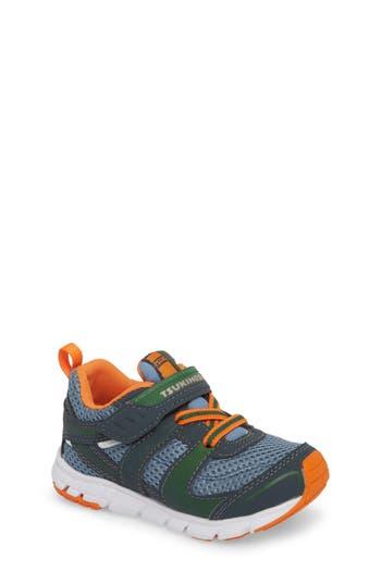 Boys Tsukihoshi Velocity Washable Sneaker Size 3.5 M  Grey