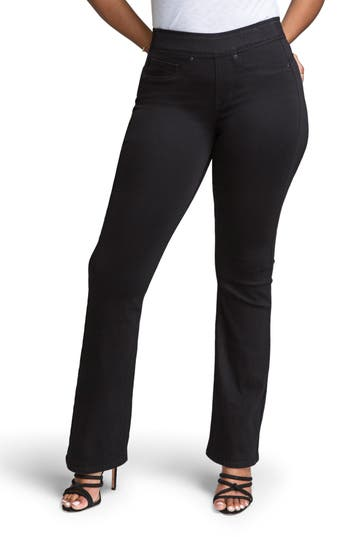 Curves 360 by NYDJ Pull-On Skinny Bootcut Jeans