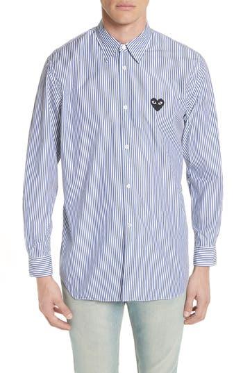 Comme des Garçons PLAY Stripe Woven Shirt