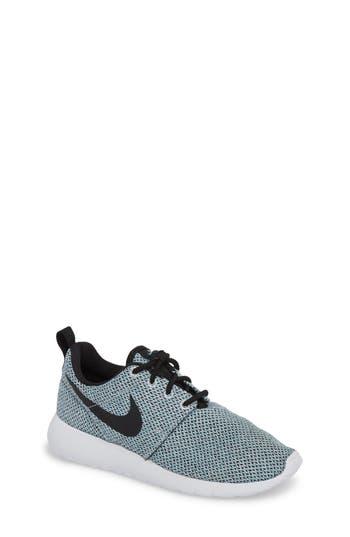 Girl's Nike 'Roshe Run' Athletic Shoe, Grey