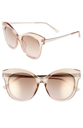 Women's Seafolly Hayman 53Mm Cat Eye Sunglasses - Blush