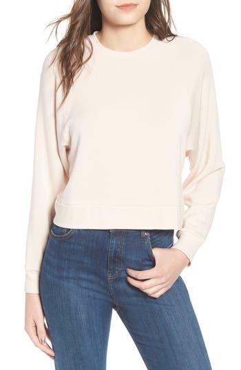 Topshop Raglan Sweatshirt, US (fits like 0) - Beige