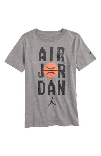 Boys Jordan Pixel Pack Wordmark TShirt